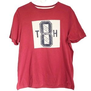 Tommy Hilfiger Retro Style Patch T-Shirt Top